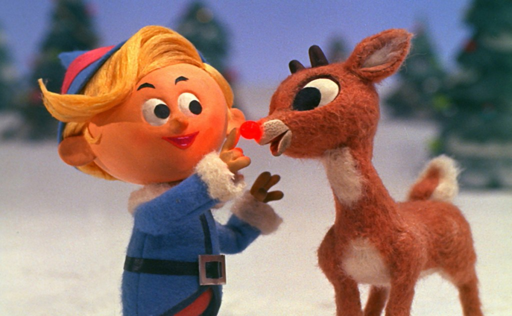 "Hermey the elf and Rudolph in ""Rudolph the Red-Nosed Reindeer."" A HuffPost video raising questions about the TV classic has been viewed over 5 million times."