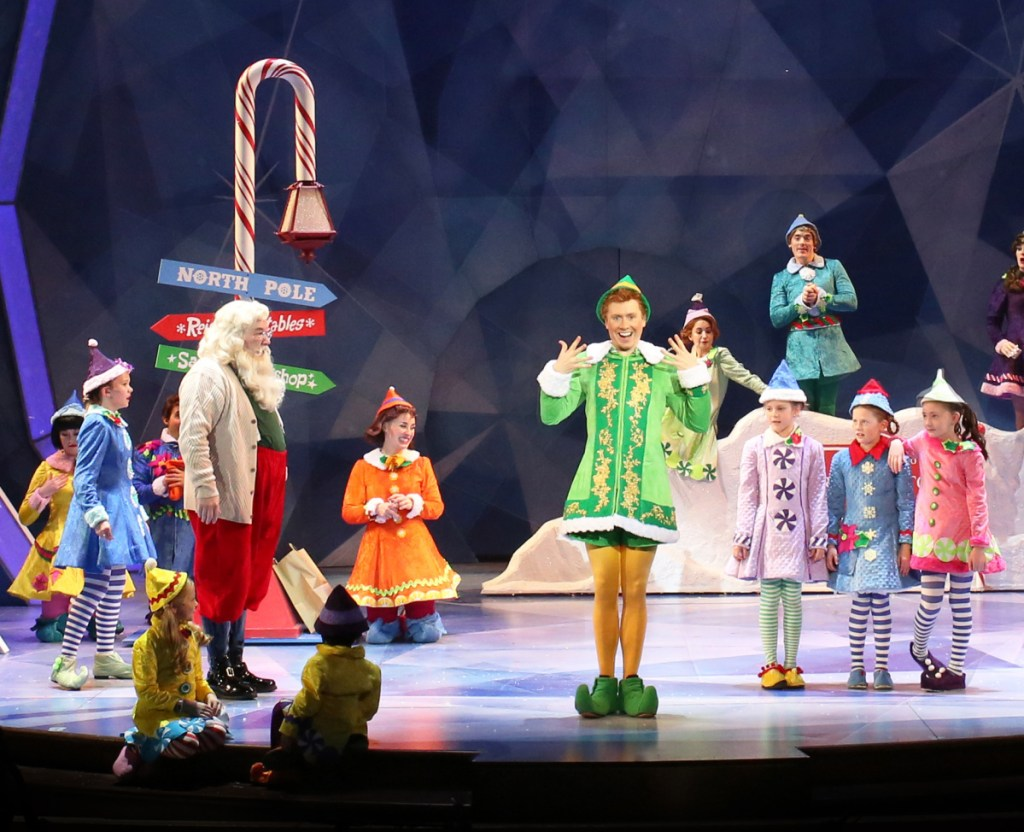 """Produced by the Ogunquit Playhouse, """"Elf The Musical"""" will warm even the coldest of hearts."""