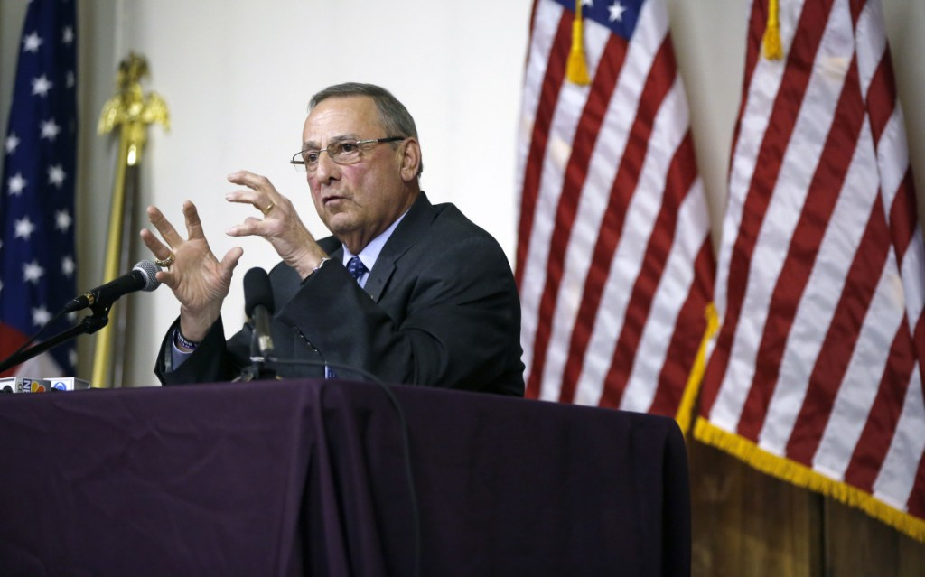 A letter writer thanks Gov. LePage for leaving the state in solid financial shape, with job growth and lower taxes.