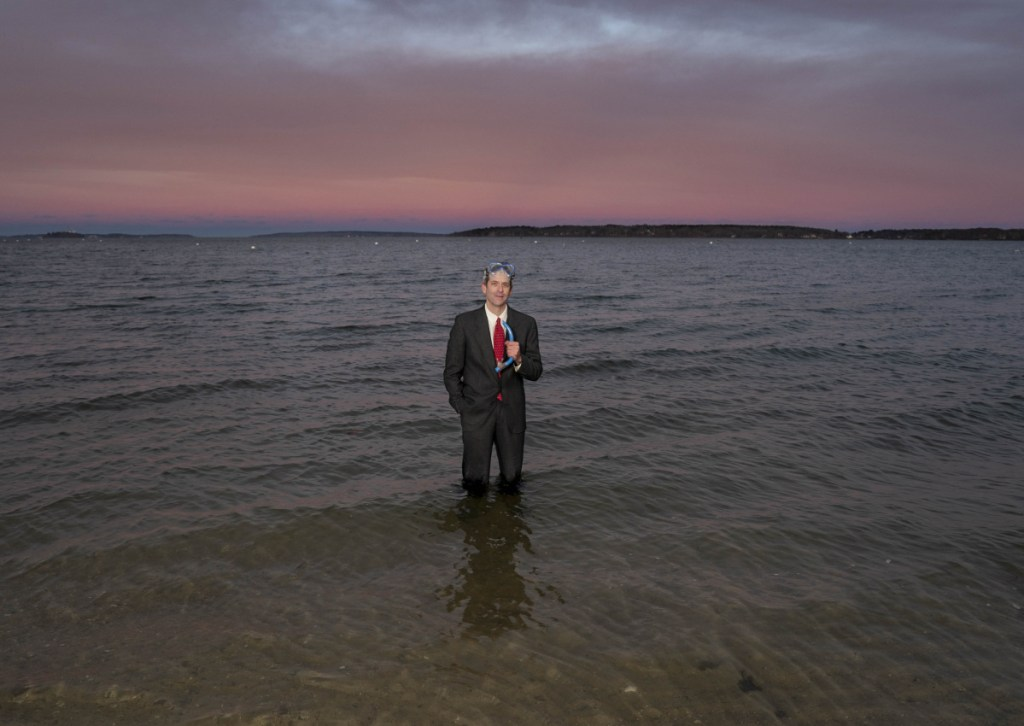 Portland man mining climate change for laughs – and action