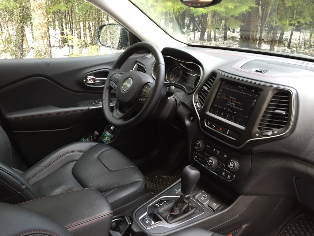 """""""No one offers better steering wheel functionality with so much ease of operation."""" (Photo by Tim Plouff)"""