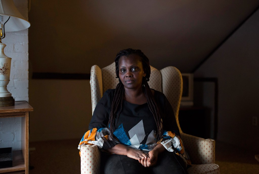 Claudine Mukarurangwa left behind her life behind in Rwanda to seek asylum in the United States. She was able to get a zero-interest loan for a security deposit for an apartment in Westbrook through a program from ProsperityME and Infinity Federal Credit Union.