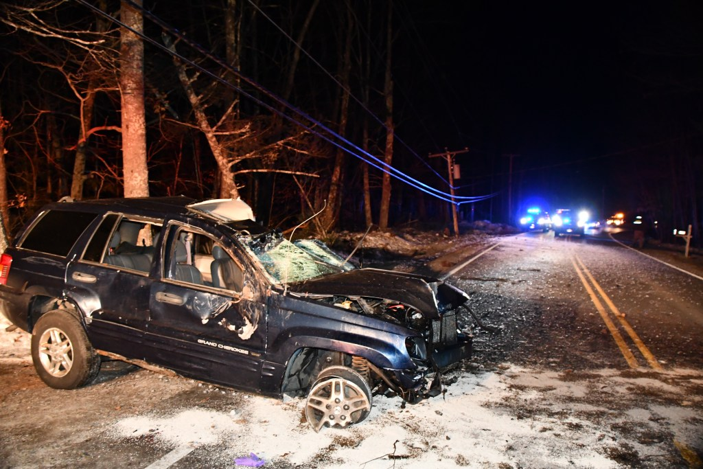 Joseph Turner was ejected from his Jeep after crashing into a utility pole, according to police.
