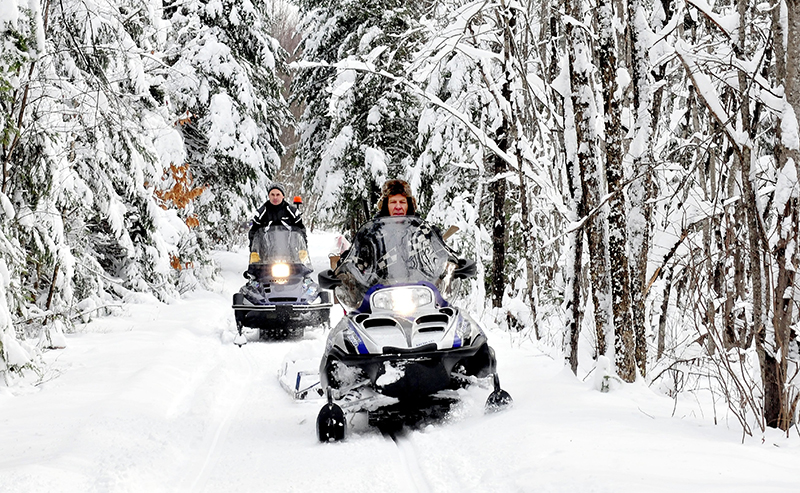 Unlike 2012 when there was plenty of snow in December to groom, there are few trails open mid-December in Maine this year.