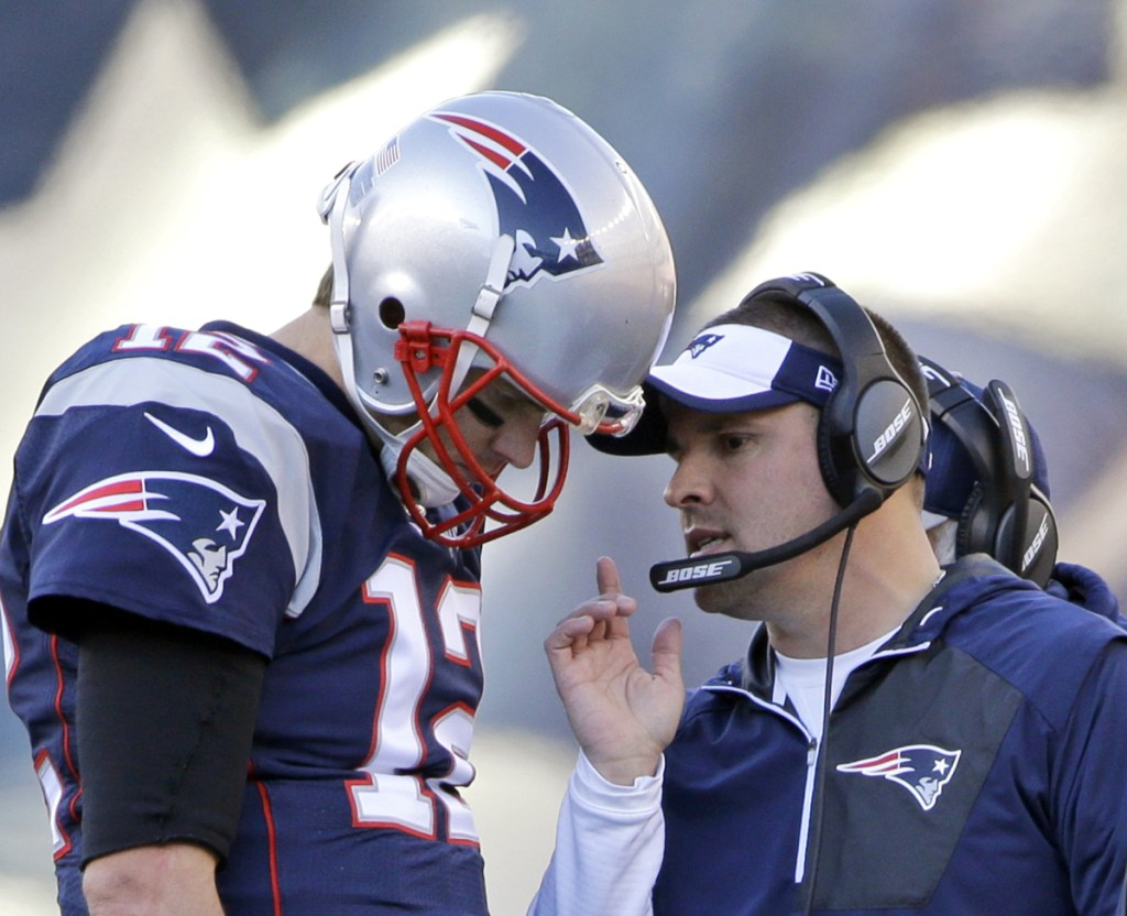 Quarterback Tom Brady of the New England Patriots may not be working in the future with offensive coordinator Josh McDaniels – a candidate to become an NFL head coach again. But Brady's seen enough changes over a long career that he'll be fine with it.