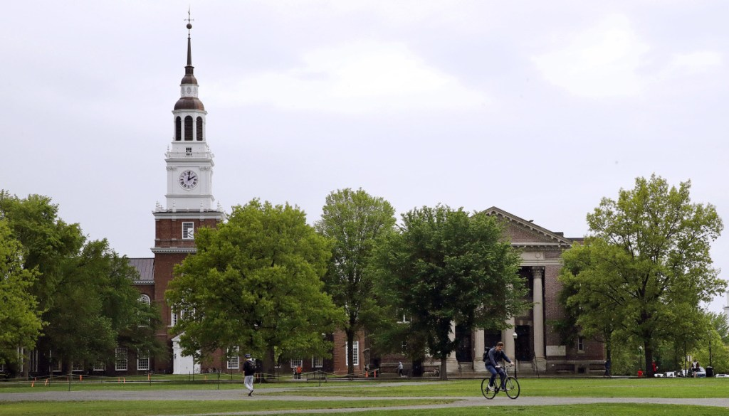 Dartmouth College President Philip Hanlon has announced a series of policies aimed at creating a learning environment that is free of sexual harassment and abuse of power at the school.