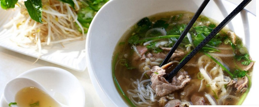 "Pho (pronounced ""fuh"") is a type of Vietnamese soup."
