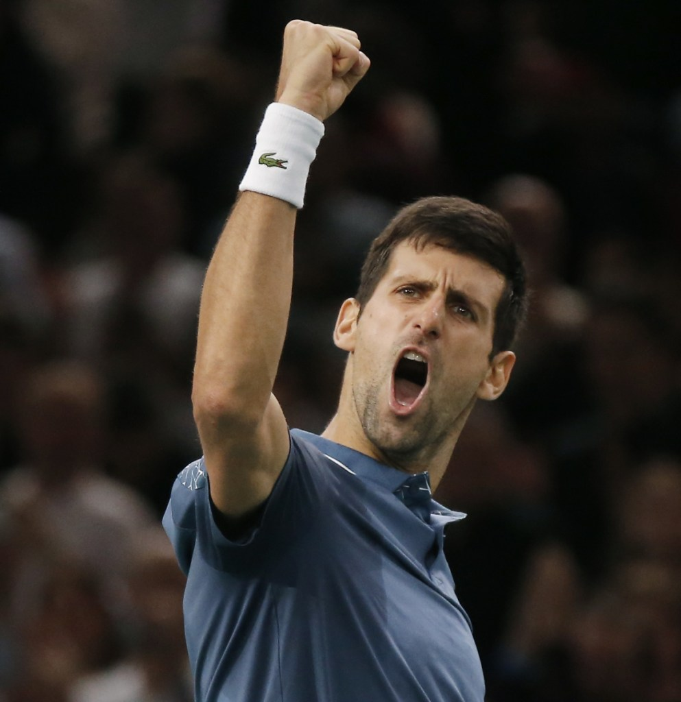 Novak Djokovic, left, and Roger Federer will have a similar goal at the Australian Open – a record seventh singles title. Simona Halep, right, who is No. 1 in the world, could play Serena Williams in the fourth round.