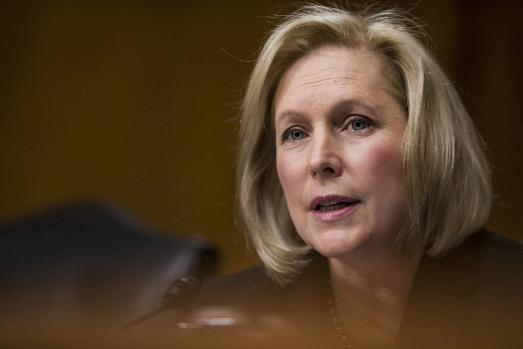 Sen. Kirsten Gillibrand, D-N.Y., a vocal critic of President Trump, plans to run for president in 2020.