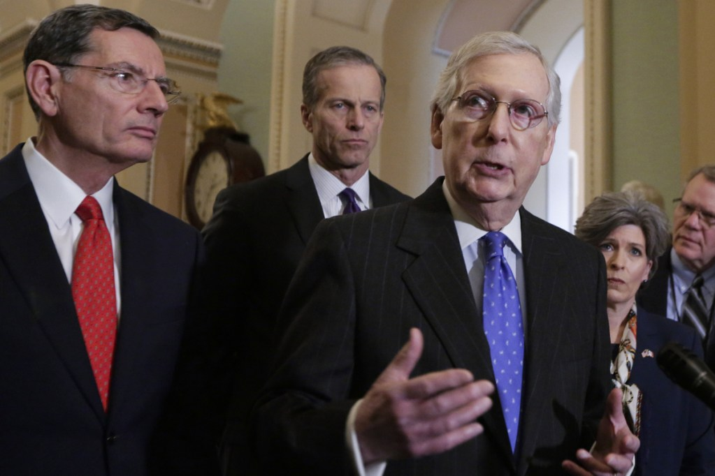 Senate Majority Leader Mitch McConnell, R-Ky., who seeks re-election in 2020, has been applauded for standing firm with President Trump and refusing to compromise.