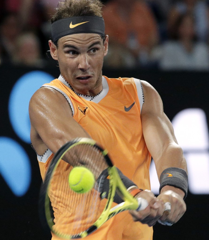 Rafael Nadal is headed to his fifth Australian Open final after dispatching Stefanos Tsitsipas in straight sets in Thursday's semis.