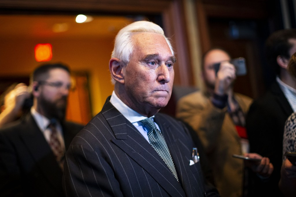 Roger Stone, a confidant of President Trump, was indicted on several counts Friday, including lying to Congress.