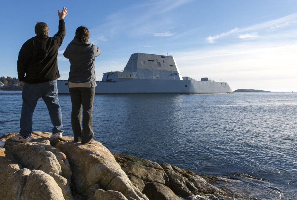 After the Cold War, the Navy envisioned its Zumwalt destroyers as sleek vessels to aid ground forces close to shore. But they didn't fit the military demands of the Iraq and Afghanistan wars, and the Navy still struggles to justify them.