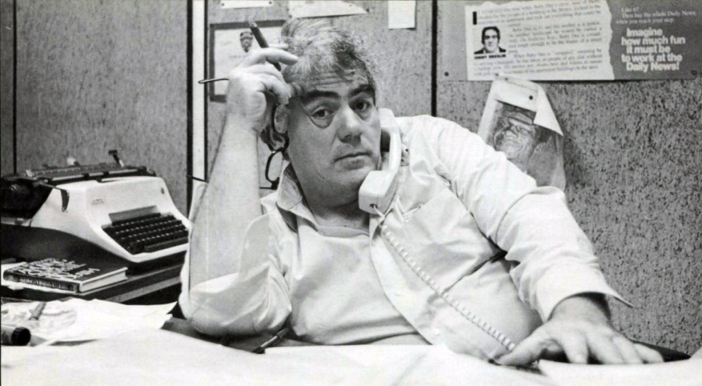 """This image released by HBO shows journalist Jimmy Breslin who is the focus of the HBO documentary """"Breslin and Hamill: Deadline Artists."""""""