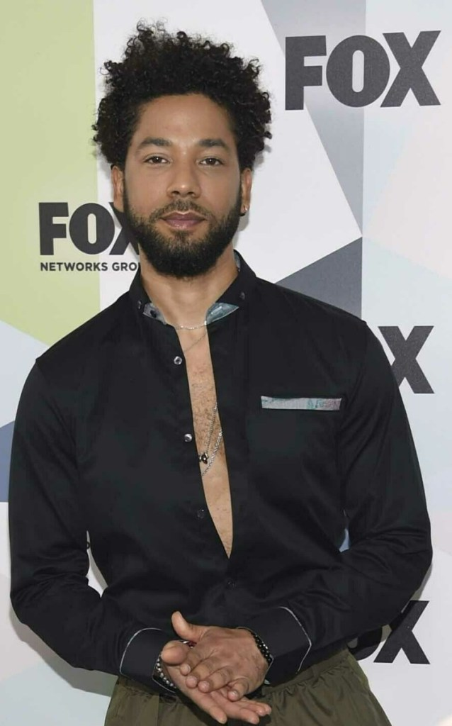 Jussie Smollett says he was attacked by two masked men.