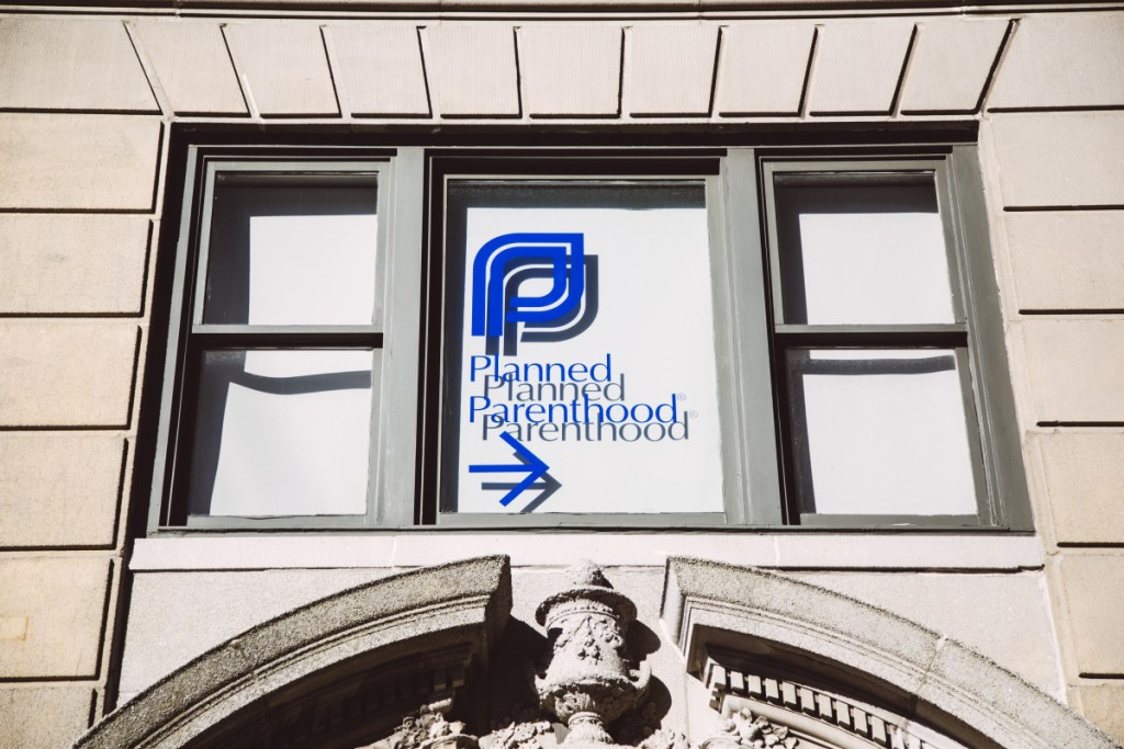 The Clapp Building houses the Portland Planned Parenthood office.