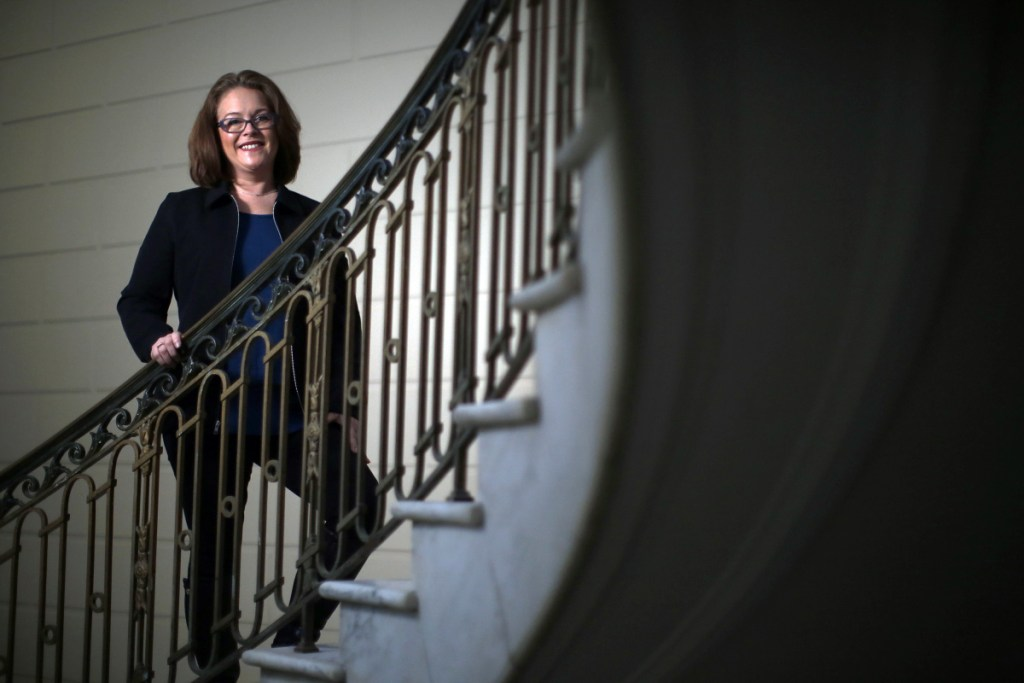 Reflecting her blue-collar upbringing in Massachusetts, Portland City Councilor Kim Cook has emerged as the leading voice for fiscal restraint within city government. Property taxes are a big factor in making the city unaffordable to middle-class families, Cook says.