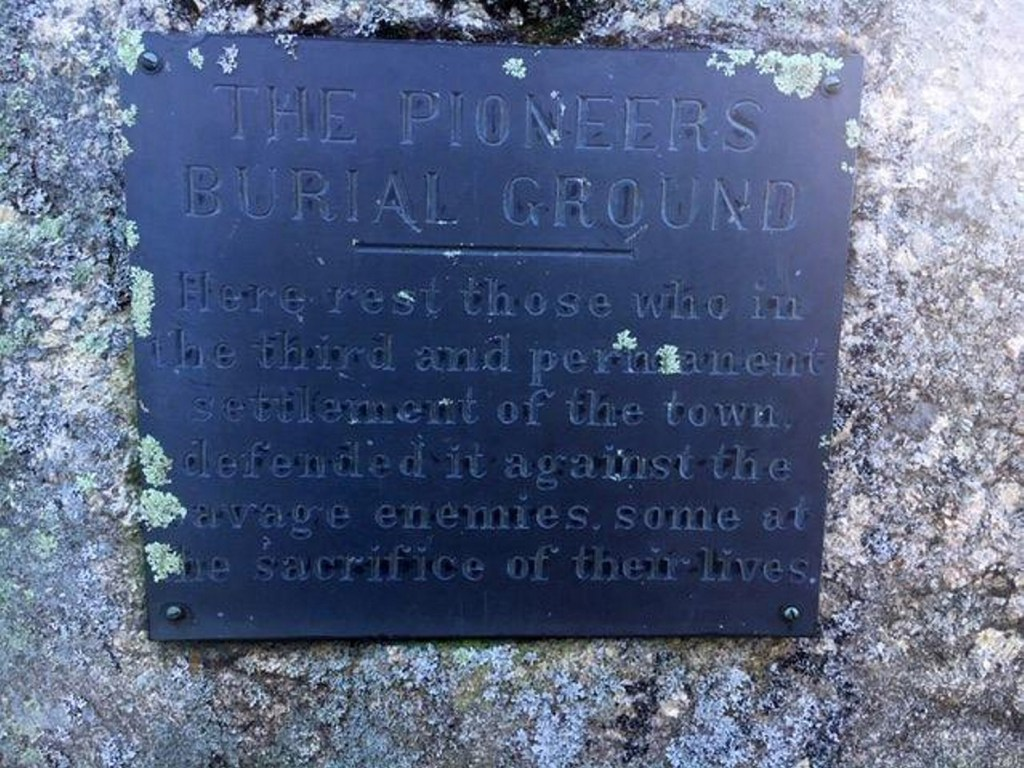 """Yarmouth has removed this historical marker at The Pioneers Burial Ground. It describes native Americans as """"savage enemies."""""""