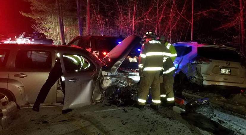 Berwick police Officer Jeff Pilkington had pulled over to assist a stranded motorist on Thursday when the driver of a third car struck the car that was parked behind the cruiser.