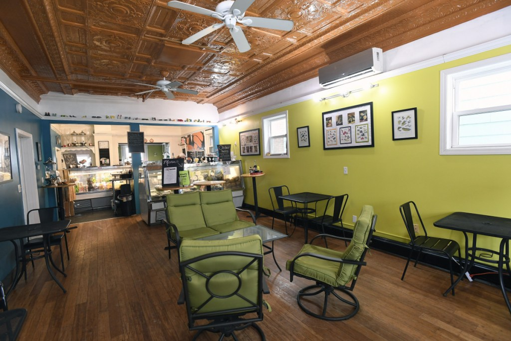 """""""I'm not a vegan myself,"""" owner and chef Colleen Kelley says, """"... But I wanted a new vegan outlet to be the kind of place where vegan people can come in and not have to even look at the menu to see what they're able to eat. They can just come in and say 'Yay!' """""""