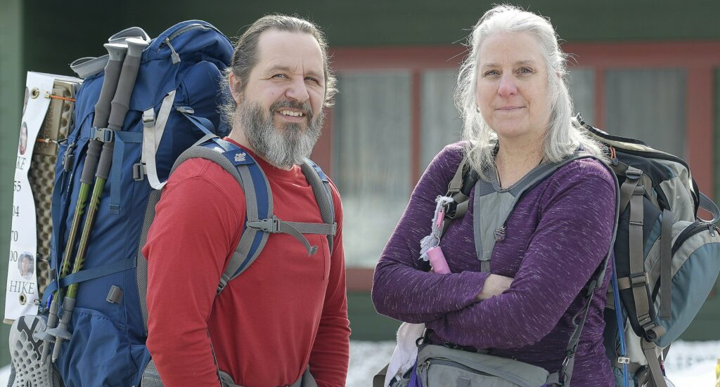 Stephen and Karen Hardy of Belgrade plan to hike a section of the Appalachian Trail to raise drug overdose awareness and honor victims.