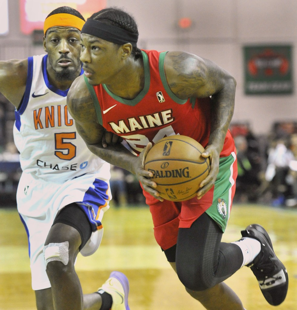 Archie Goodwin is averaging 17.3 points per game since joining the Red Claws in January after starting the season in China. A first-round draft pick in 2013, Goodwin has played a total of 165 NBA games for three teams.