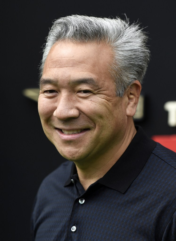 Warner Bros. chief Kevin Tsujihara has stepped down after claims that he promised roles to an actress in exchange for sex.