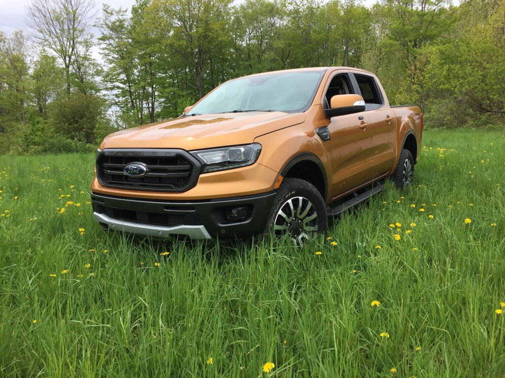 Ford Ranger pricing starts at $25,395 for a base 2WD Supercab, and $27,615 for a SuperCrew. Photo by Tim Plouff. Location: Wales.