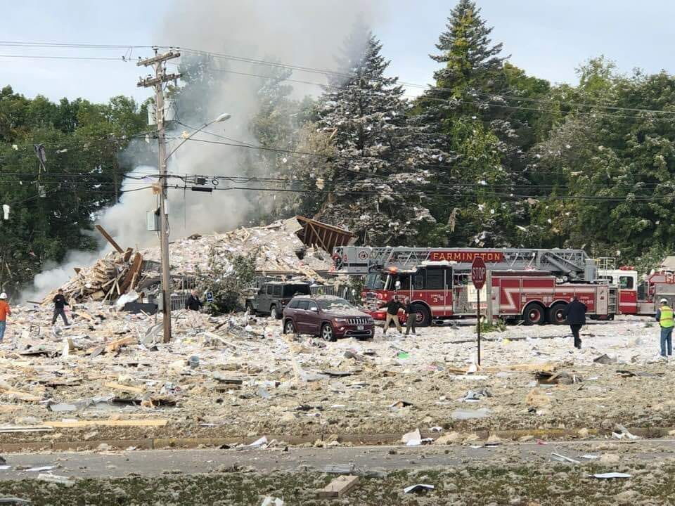 Firefighter Killed, 6 Others Injured In Maine Explosion