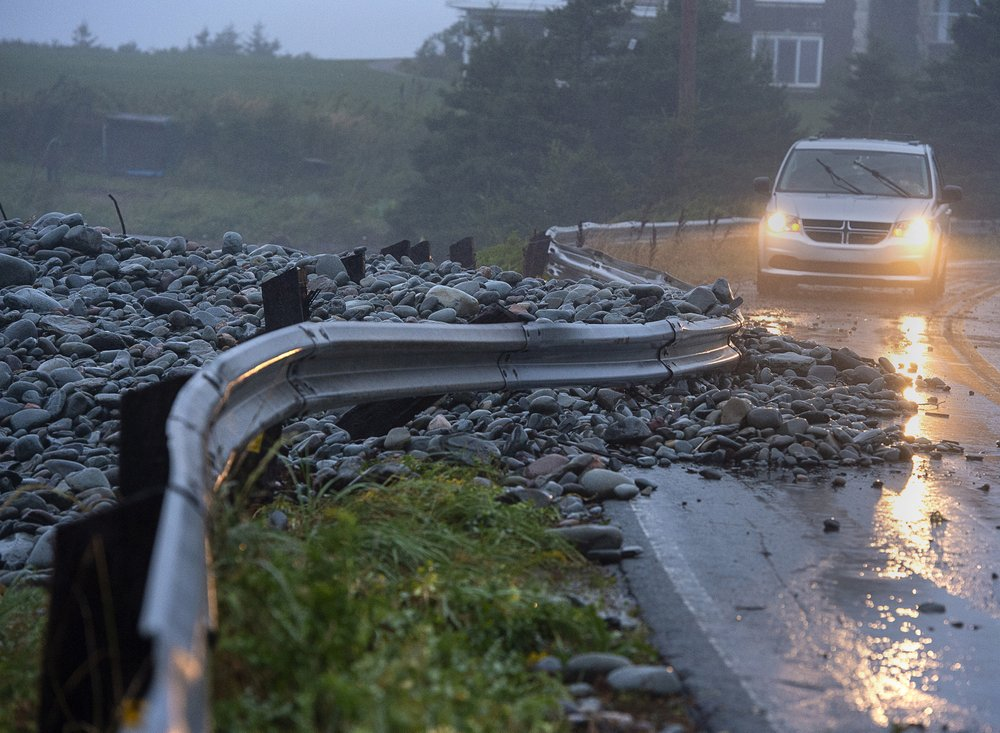 Dorian topples crane, knocks out power in eastern Canada - Portland Press Herald