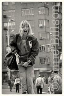 Rosanna Arquette, actor, New York, 1983.