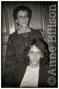Ethan & Joel Coen, film-makers. London, 1985.