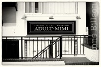 Adult Mimi (I have no idea what this was - maybe a club, maybe a dressmaker's, who knows).