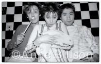 Plastics, musicians. Tokyo, 1980.