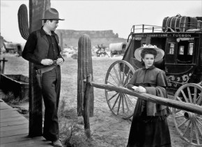 """Nice girl: Cathy Downs as """"Clementine Carter"""" in My Darling Clementine (1946)"""