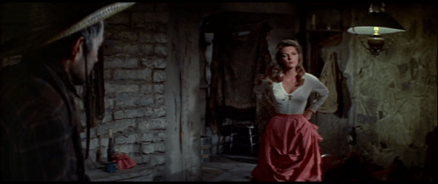 Sexually molested singer: Julie London in Man of the West (1958)