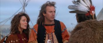 """Gone Native American: Mary McDonnell as """"Stands with a Fist"""" in Dances with Wolves (1990)"""