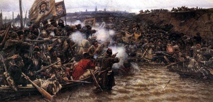 Суриков: Покорение Сибири Ермаком 2. 1895