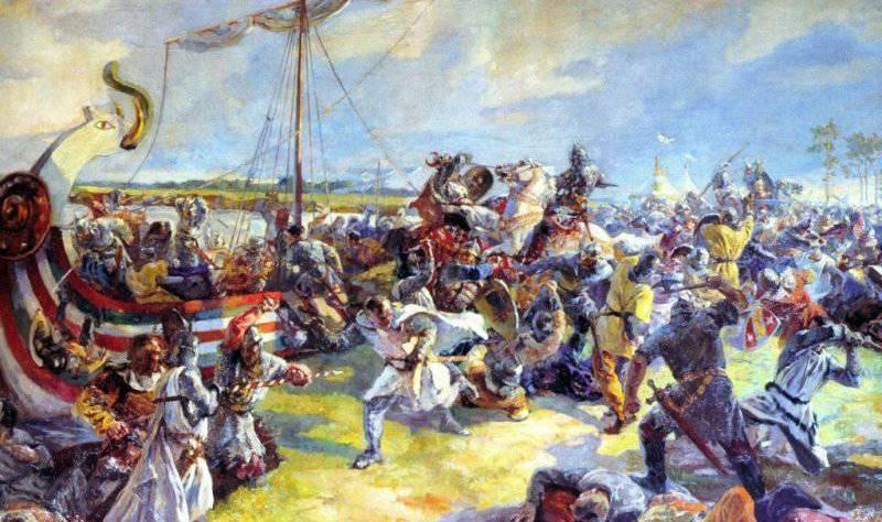 Невская битва. 1240