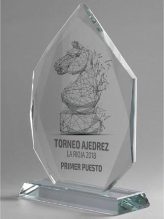 1310-Cristal-Economico-Trofeo-Placa-Reconocimiento-Homenaje