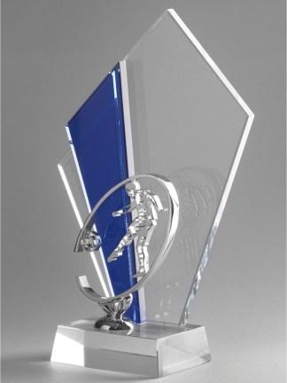 1316-Cristal-Economico-Trofeo-Placa-Reconocimiento-Homenaje