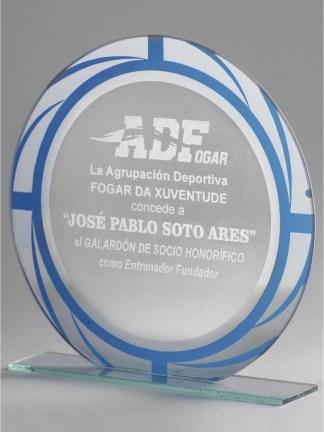1355-Cristal-Economico-Trofeo-Placa-Reconocimiento-Homenaje