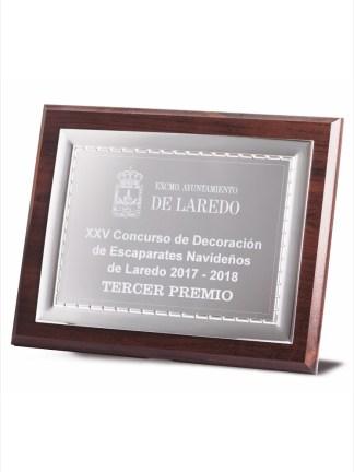 1728-Placa-Economico-Trofeo-Reconocimiento-Homenaje-Barata