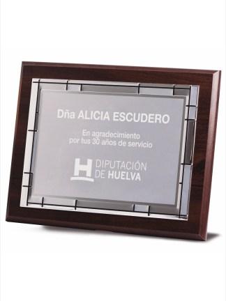1731-Placa-Economico-Trofeo-Reconocimiento-Homenaje-Barata