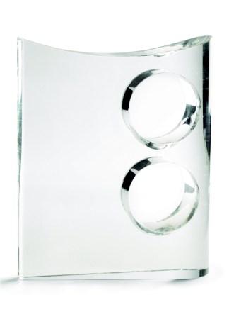 2314-Cristal-Economico-Trofeo-Placa-Reconocimiento-Homenaje