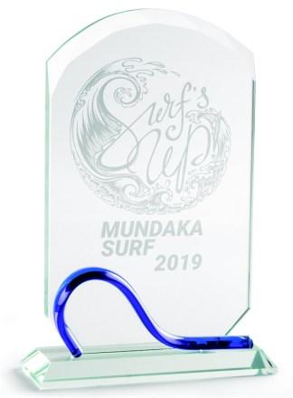 2327-Cristal-Economico-Trofeo-Placa-Reconocimiento-Homenaje