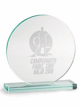 2348-Cristal-Economico-Trofeo-Placa-Reconocimiento-Homenaje