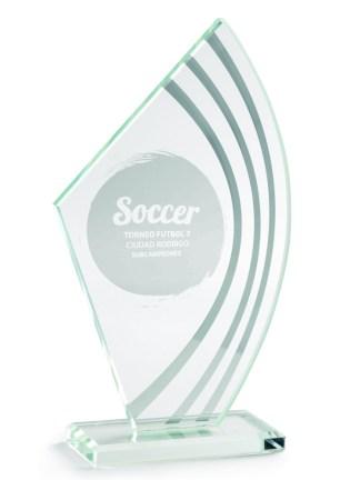 2352-Cristal-Economico-Trofeo-Placa-Reconocimiento-Homenaje