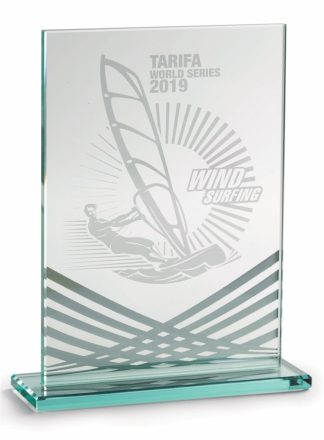 2353-Cristal-Economico-Trofeo-Placa-Reconocimiento-Homenaje