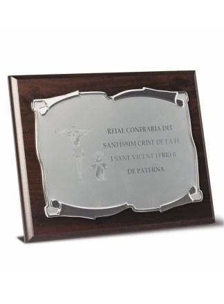 2723-Placa-Economico-Trofeo-Reconocimiento-Homenaje-Barata